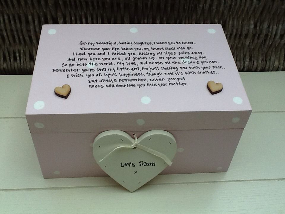 Best ideas about Wedding Gift Ideas For Daughter . Save or Pin Shabby Personalised Chic Daughter Her Wedding Day From Now.