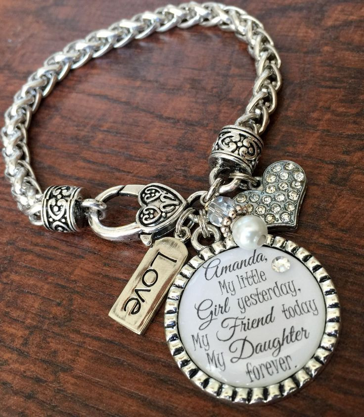 Best ideas about Wedding Gift Ideas For Daughter . Save or Pin I ll love you forever Mother daughter bracelet mother Now.