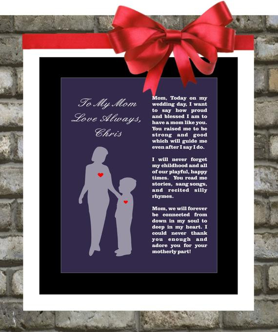 Best ideas about Wedding Gift Ideas For Son . Save or Pin Mother The Groom Gift From Son Wedding Thank by Now.