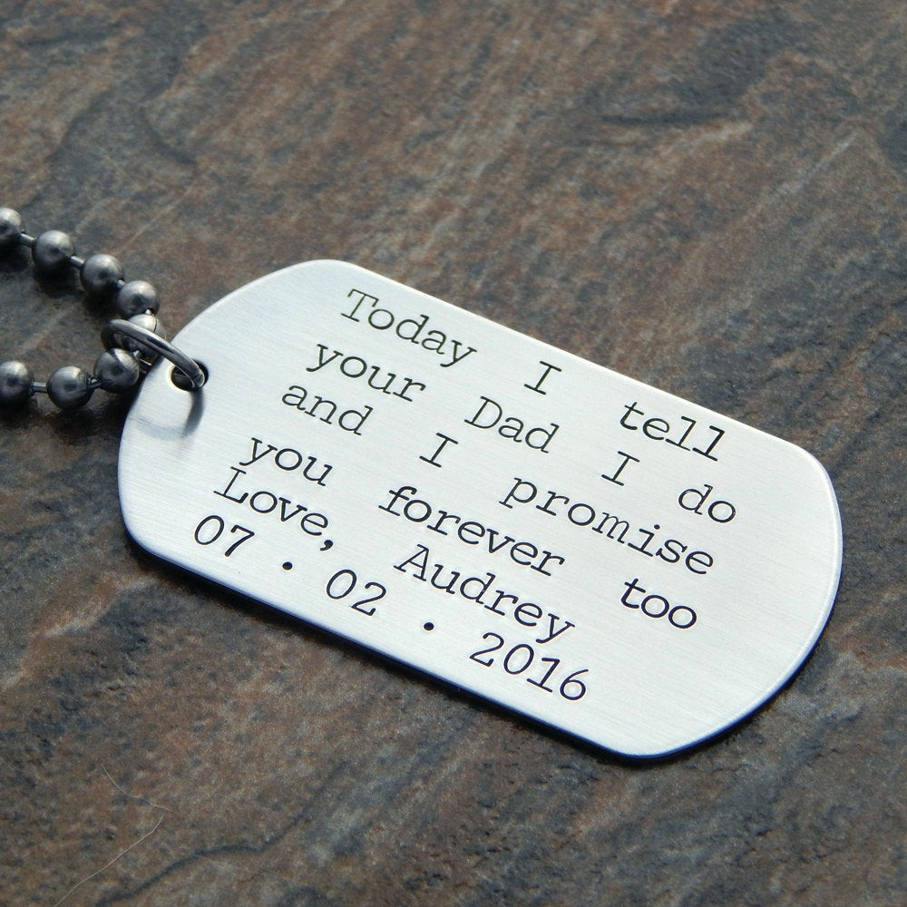 Best ideas about Wedding Gift Ideas For Son . Save or Pin Personalized Step Son Wedding Gift Groom s Son Wedding Now.