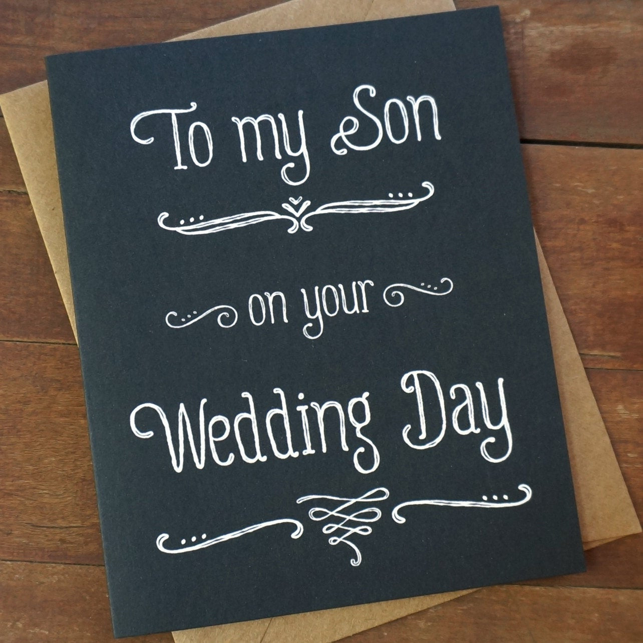 Best ideas about Wedding Gift Ideas For Son . Save or Pin Son Wedding Gift for Son in law Gift To My Son Your Now.