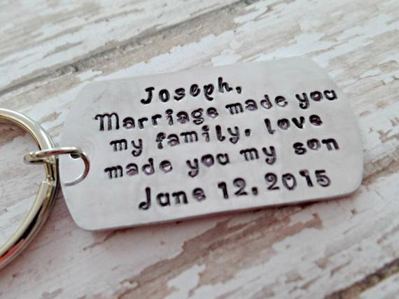 Best ideas about Wedding Gift Ideas For Son . Save or Pin Wedding Gifts Personalized Blended Family by Now.