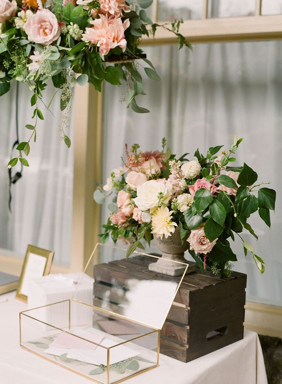 Best ideas about Wedding Gift Tables Ideas . Save or Pin 21 Poems For Money Trees & Wishing Wells Now.