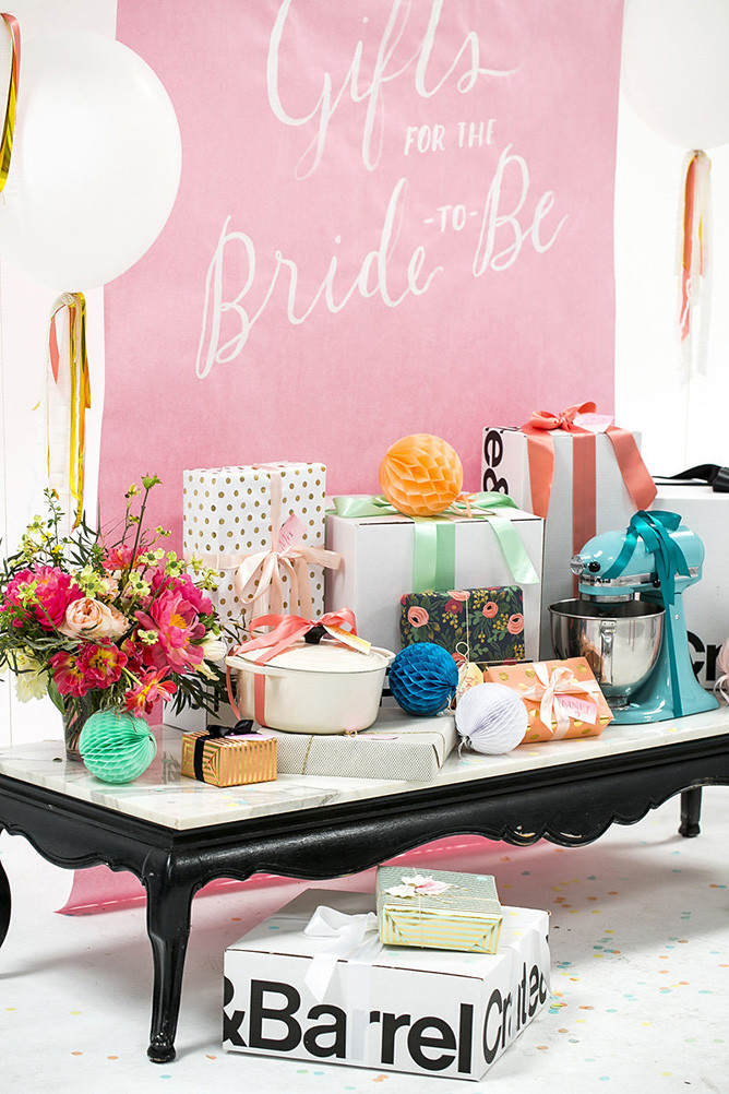Best ideas about Wedding Gift Tables Ideas . Save or Pin Bridal Shower Gift Table Ideas Now.