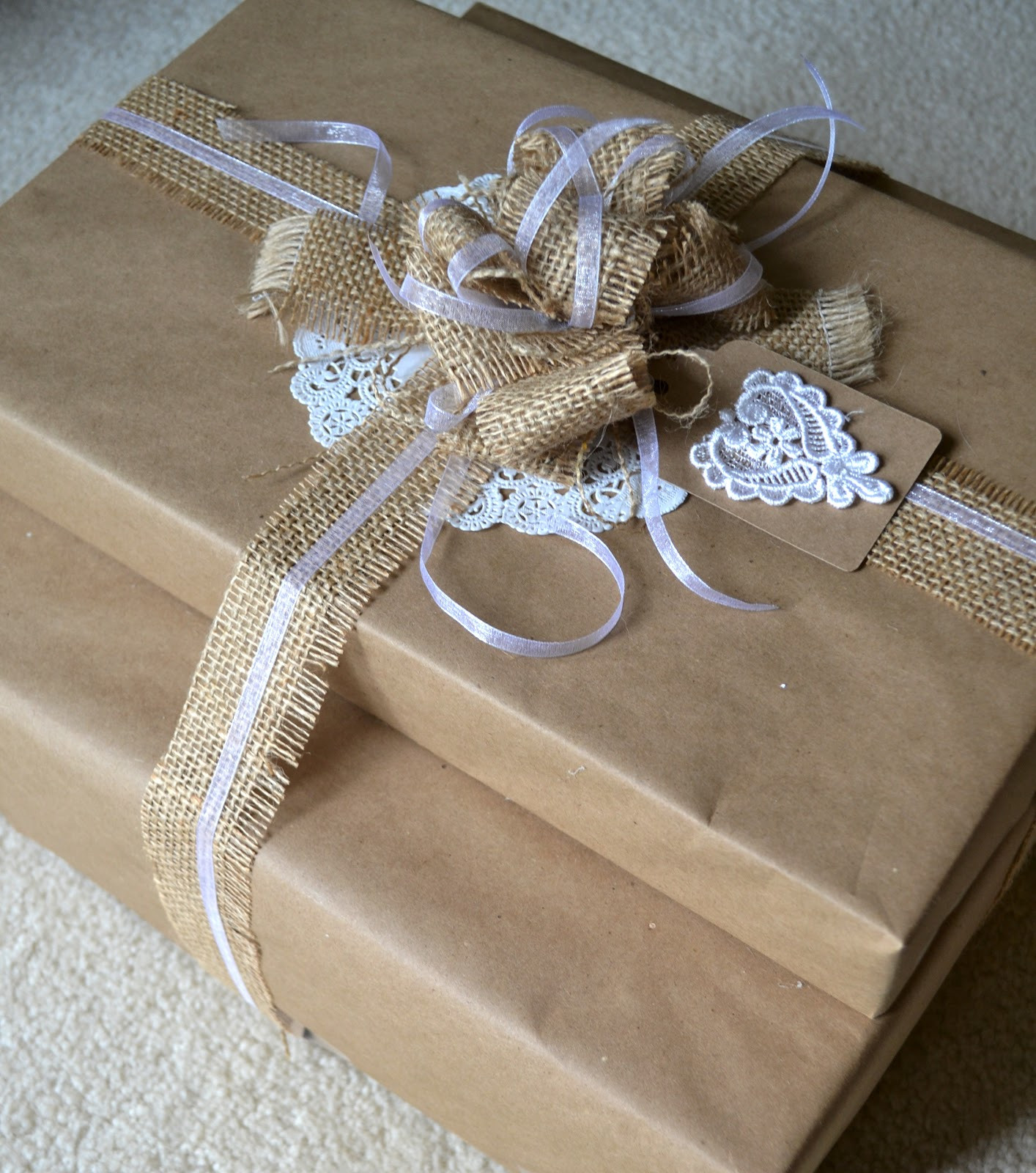 Best ideas about Wedding Gift Wrap Ideas . Save or Pin Simple Nature Decor Now.
