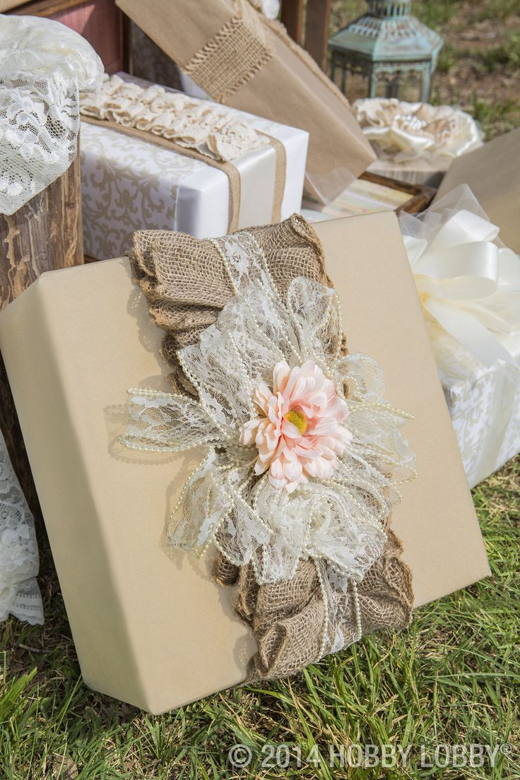 Best ideas about Wedding Gift Wrap Ideas . Save or Pin 25 best ideas about Wedding Gift Wrapping on Pinterest Now.