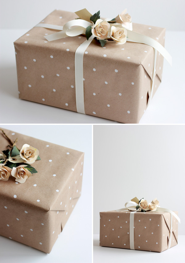 Best ideas about Wedding Gift Wrapping Ideas . Save or Pin Wedding Gift Wrap Ideas Now.