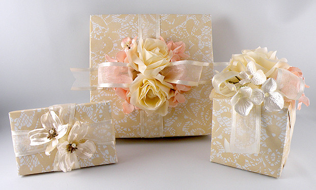 Best ideas about Wedding Gift Wrapping Ideas . Save or Pin Vintage Wedding Gift Wrap – Gina Tepper Now.