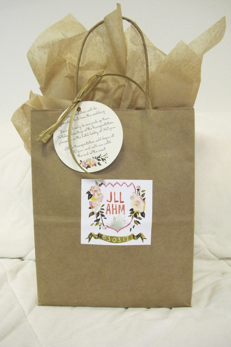 Best ideas about Wedding Guest Gift Bag Ideas . Save or Pin 15 best images about Wedding Party Guest Gift Ideas on Now.