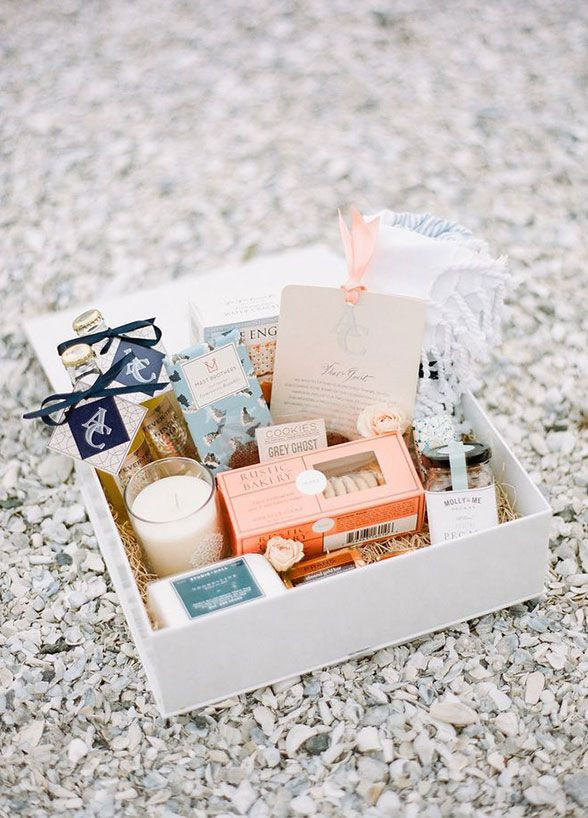 Best ideas about Wedding Guest Gift Bag Ideas . Save or Pin 02 17 Rustic Ideas Plum Pretty Sugar Now.