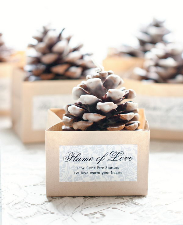 Best ideas about Wedding Guest Gift Ideas Cheap . Save or Pin 20 Easy and Usable DIY Wedding Favor Ideas Hative Now.