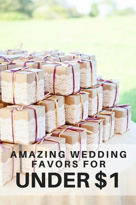 Best ideas about Wedding Guest Gift Ideas Cheap . Save or Pin Wedding Favors for Less Than $1 Wedding ideas Now.