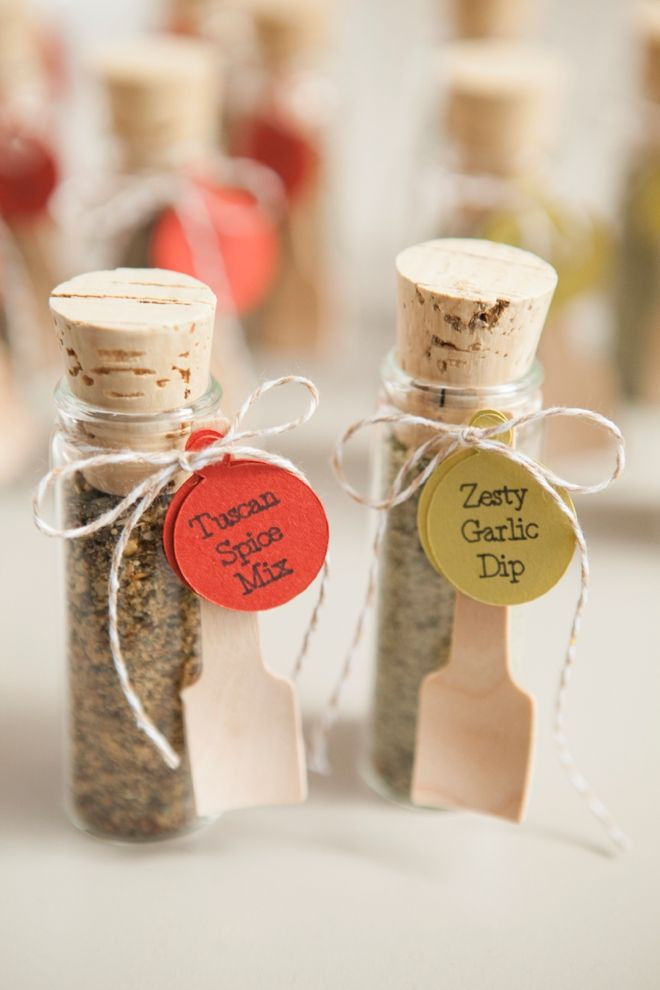 Best ideas about Wedding Guest Gift Ideas Cheap . Save or Pin Make your own adorable spice dip mix wedding favors Now.