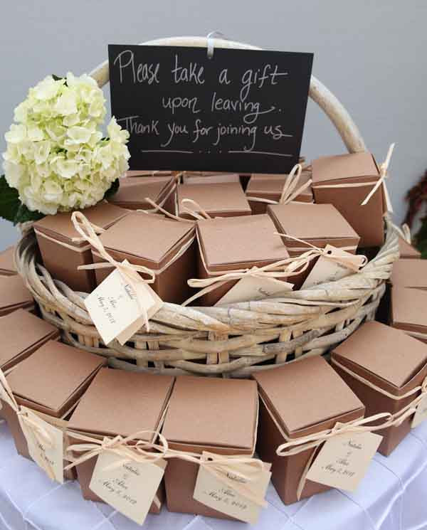 Best ideas about Wedding Guest Gift Ideas . Save or Pin Ideas of Presenting Wedding Favors Now.
