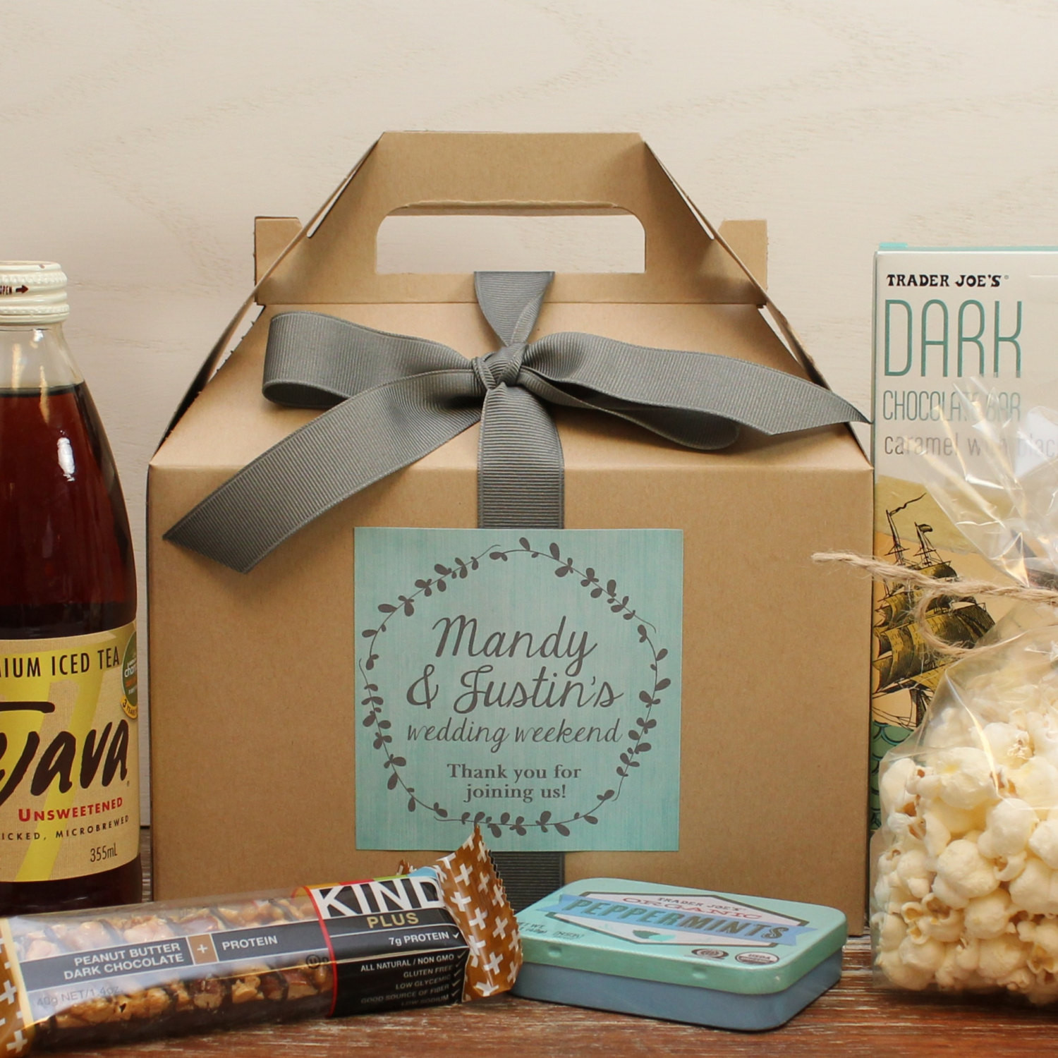 Best ideas about Wedding Guest Gift Ideas . Save or Pin Set of 6 Out of Town Guest Box Wedding Wel e by Now.