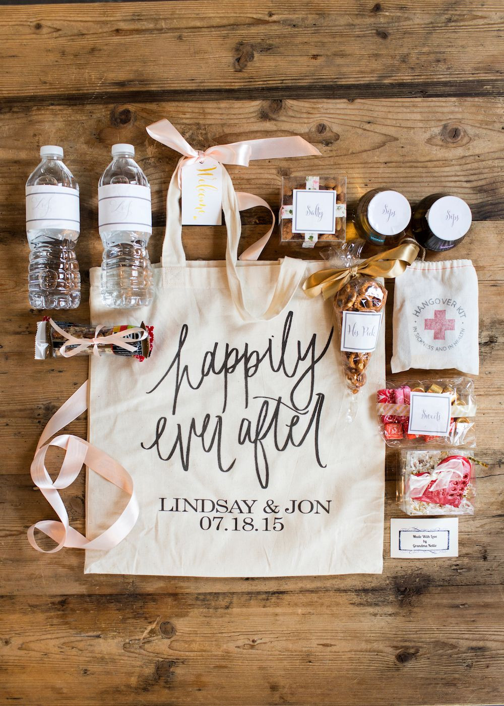 Best ideas about Wedding Guest Gift Ideas . Save or Pin Wedding Wednesday What We Put in Our Wedding Wel e Bags Now.