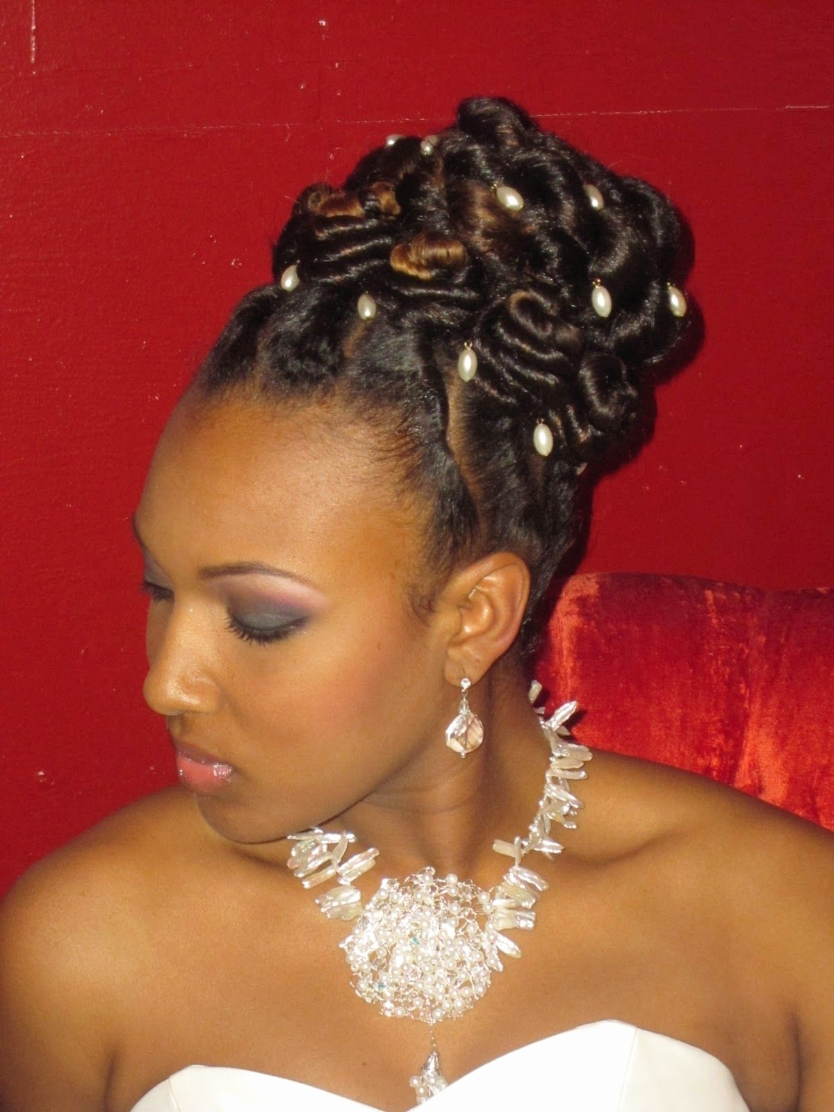Best ideas about Wedding Hairstyles Braids African American . Save or Pin 15 Best Collection of African Wedding Braids Hairstyles Now.