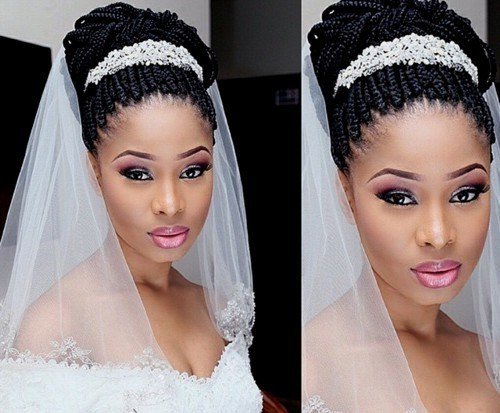 Best ideas about Wedding Hairstyles Braids African American . Save or Pin 50 Superb Black Wedding Hairstyles Now.