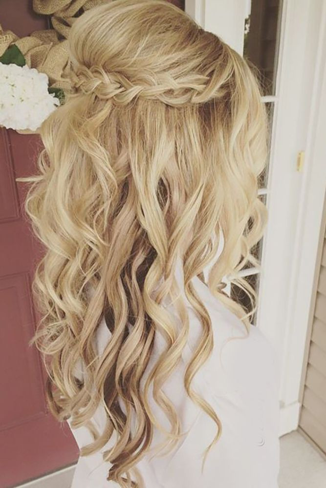 Best ideas about Wedding Hairstyles Down Curly . Save or Pin 33 Oh So Perfect Curly Wedding Hairstyles Now.