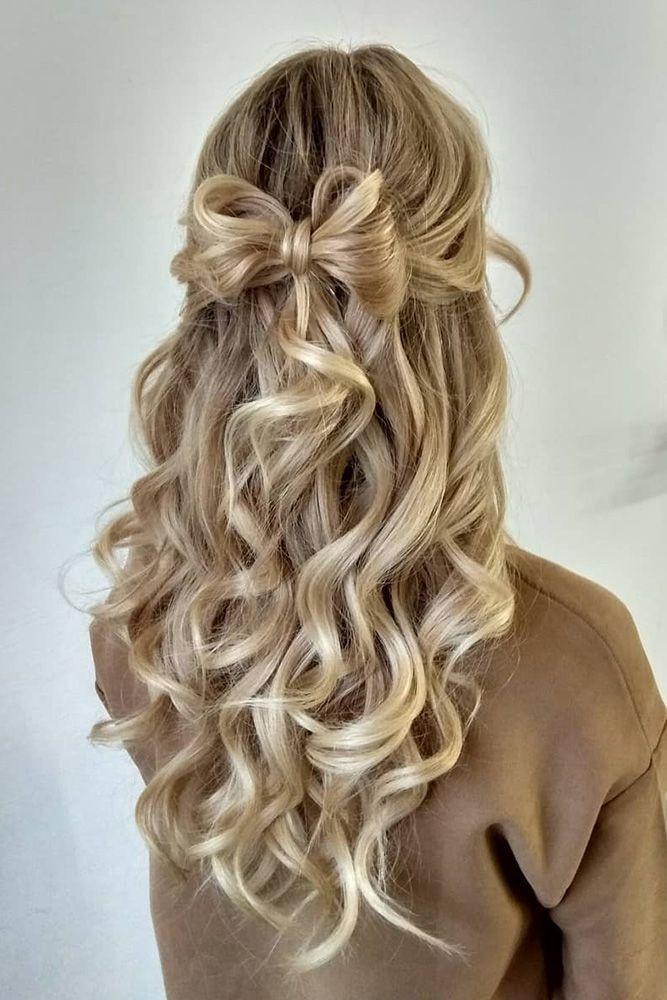 Best ideas about Wedding Hairstyles Down Curly . Save or Pin 4721 best Wedding Hairstyles & Updos images on Pinterest Now.