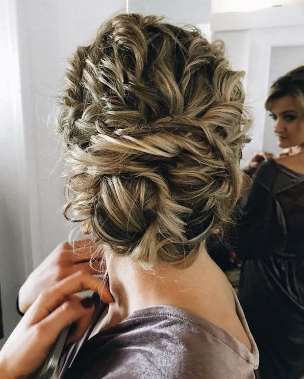Best ideas about Wedding Hairstyles For Naturally Curly Hair . Save or Pin Untamed Tresses Now.