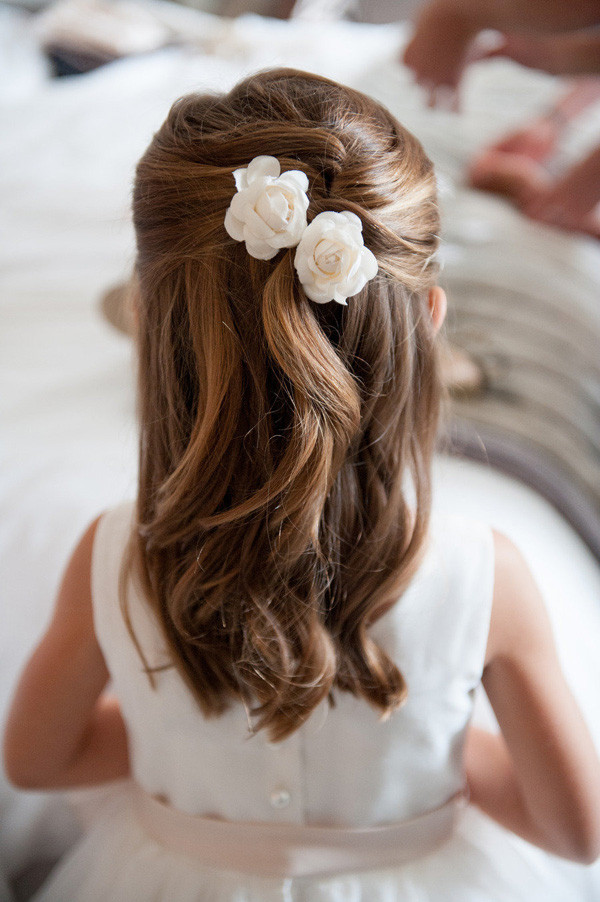 Best ideas about Wedding Hairstyles For Toddlers . Save or Pin 18 Cutest Flower Girl Ideas For Your Wedding Day Now.