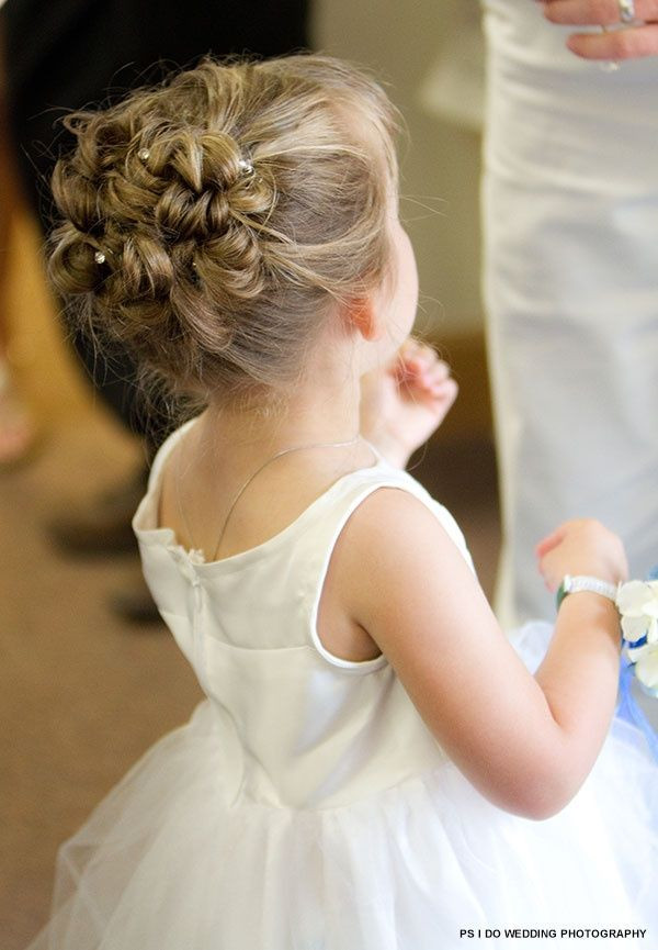 Best ideas about Wedding Hairstyles For Toddlers . Save or Pin 38 Super Cute Little Girl Hairstyles for Wedding Now.