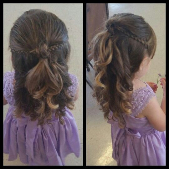 Best ideas about Wedding Hairstyles For Toddlers . Save or Pin Best 25 Toddler wedding hair ideas on Pinterest Now.