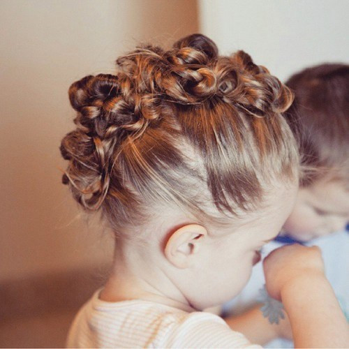 Best ideas about Wedding Hairstyles For Toddlers . Save or Pin 20 Adorable Toddler Girl Hairstyles Now.