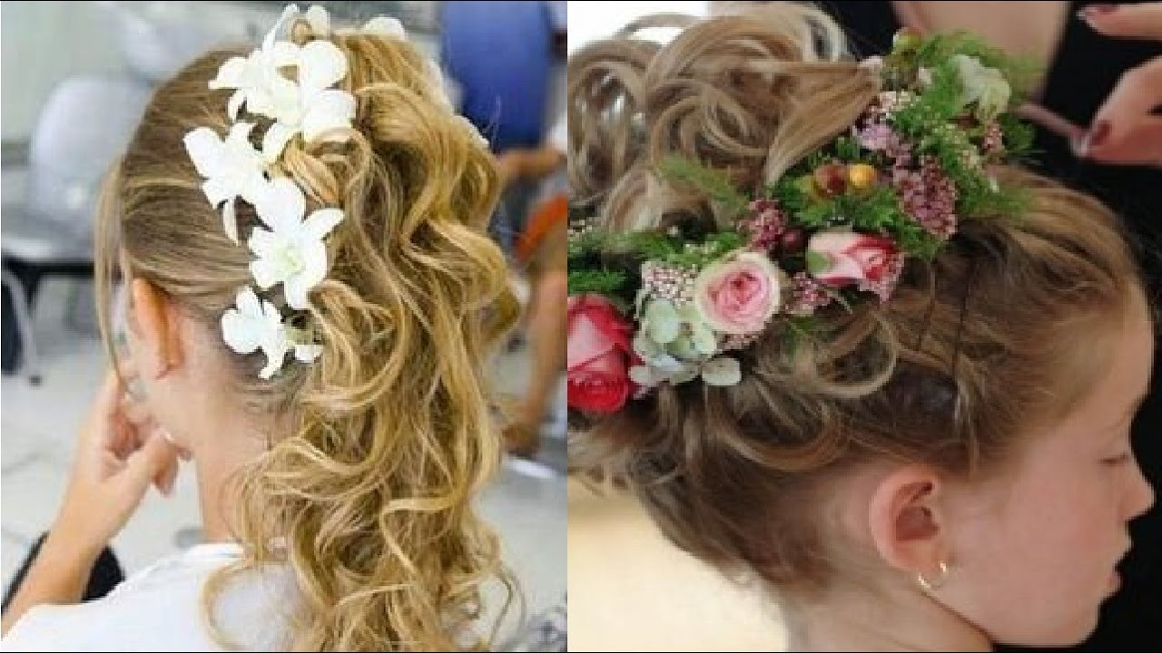 Best ideas about Wedding Hairstyles For Toddlers . Save or Pin Hair Style For Kids In Wedding Now.