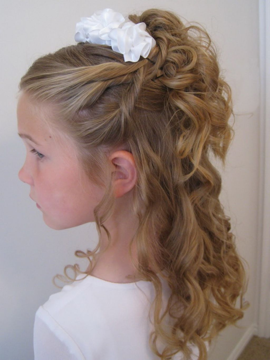 Best ideas about Wedding Hairstyles For Toddlers . Save or Pin 20 Wedding Hairstyles For Kids Ideas Wohh Wedding Now.
