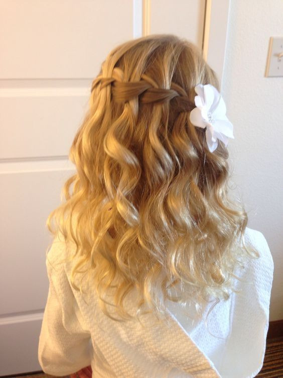 Best ideas about Wedding Hairstyles For Toddlers . Save or Pin 25 best ideas about Kids wedding hairstyles on Pinterest Now.