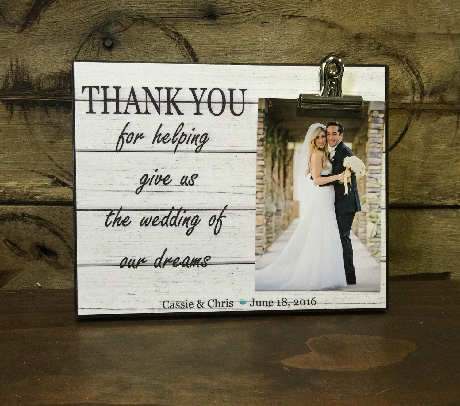 Best ideas about Wedding Officiant Gift Ideas . Save or Pin Wedding ficiant Gift Wedding Gift Thank You For Helping Now.