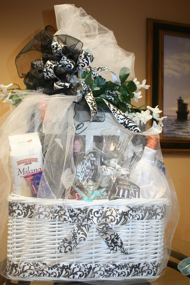 Best ideas about Wedding Shower Gift Basket Ideas . Save or Pin The 25 best Bridal t baskets ideas on Pinterest Now.