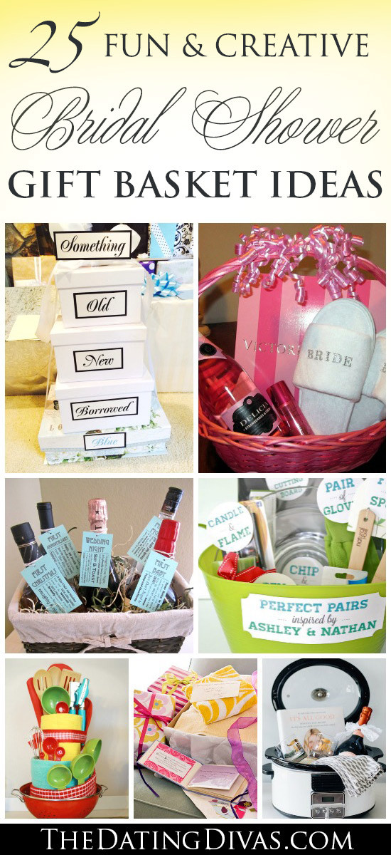 Best ideas about Wedding Shower Gift Basket Ideas . Save or Pin 60 BEST Creative Bridal Shower Gift Ideas Now.