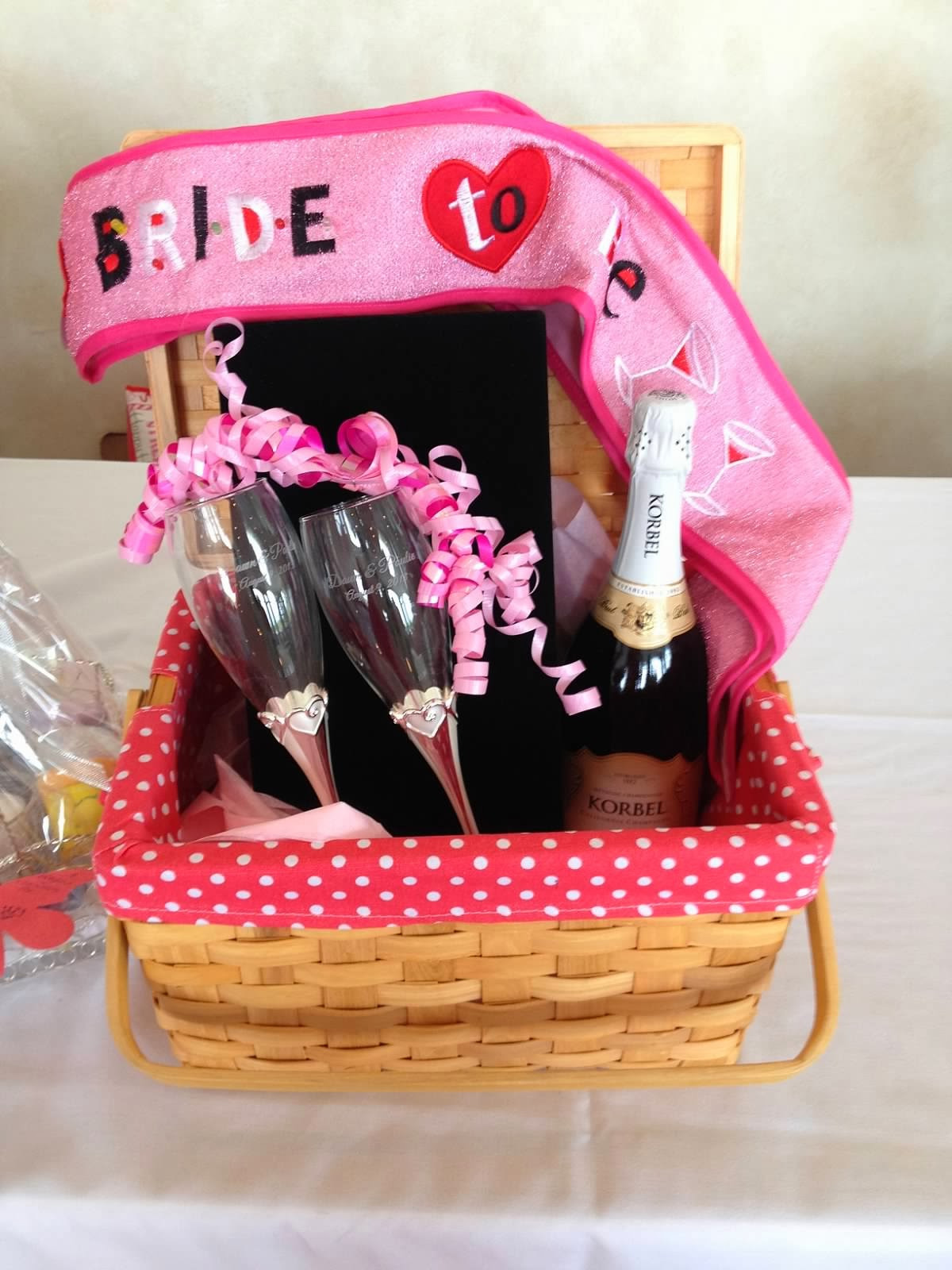 Best ideas about Wedding Shower Gift Basket Ideas . Save or Pin 2 Girls 1 Year 730 Moments to Wedding Wednesdays Now.