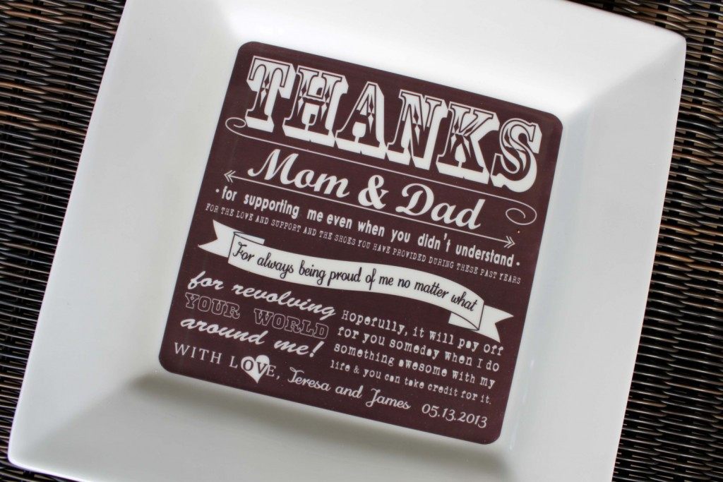 Best ideas about Wedding Thank You Gift Ideas For Parents . Save or Pin Wedding Thank You Gift Ideas For Parents Now.