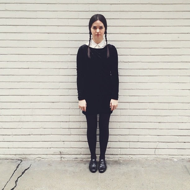 Best ideas about Wednesday Addams DIY Costume . Save or Pin Halloween Costumes Appropriate For Work Now.