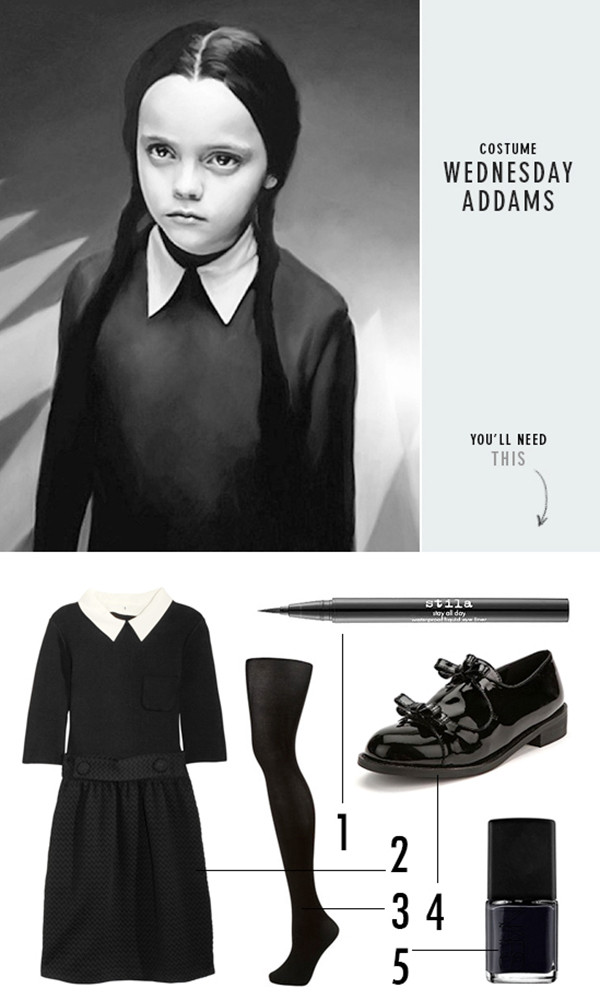 Best ideas about Wednesday Addams DIY Costume . Save or Pin 31 Last Minute Halloween DIYs Costumes Treats & Decor Now.
