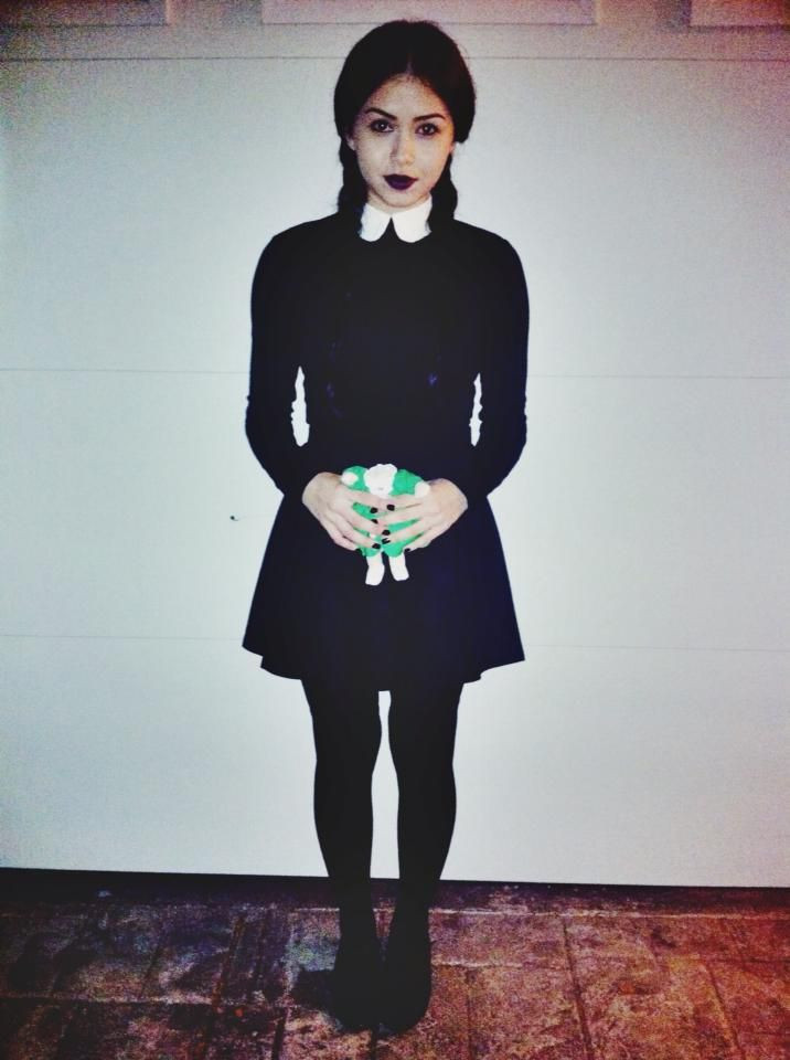Best ideas about Wednesday Addams DIY Costume . Save or Pin Wednesday Addams Halloween costume The Addams Family Now.
