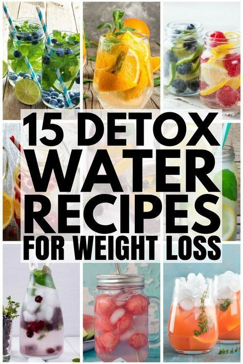 Best ideas about Weight Loss Cleanse DIY . Save or Pin 15 Detox Water Recipes For Weight Loss and Clear Skin Now.