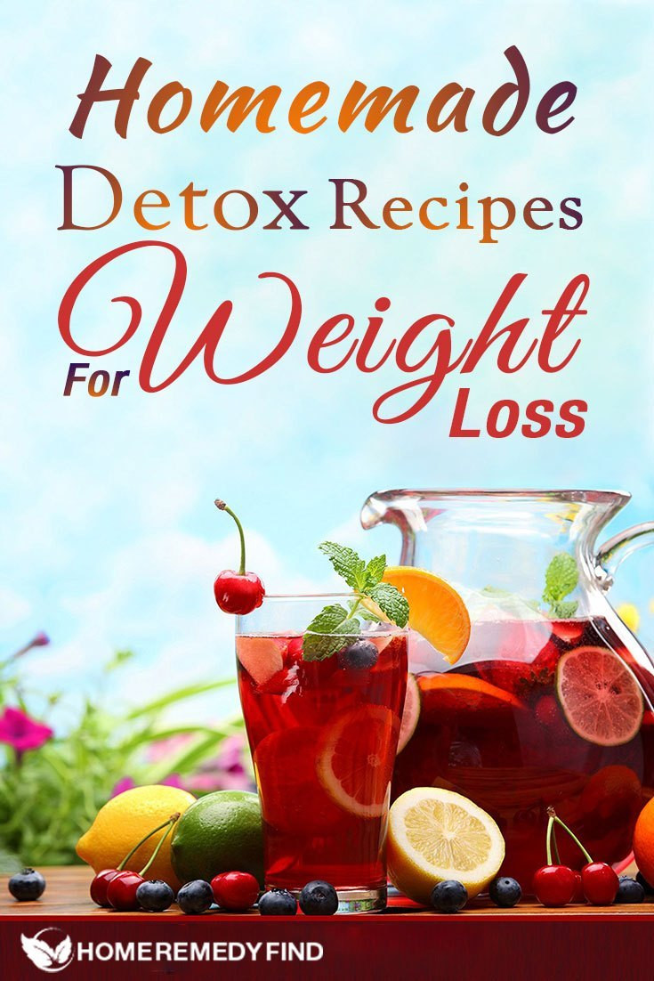 Best ideas about Weight Loss Cleanse DIY . Save or Pin 6 Homemade Detox Recipes for Weight Loss Now.