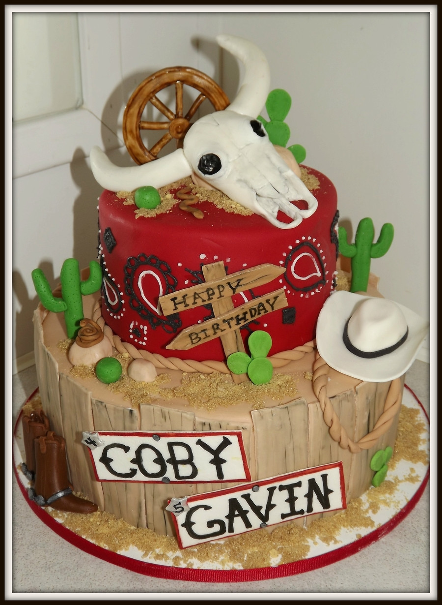 Best ideas about Western Birthday Cake . Save or Pin Western Cake CakeCentral Now.