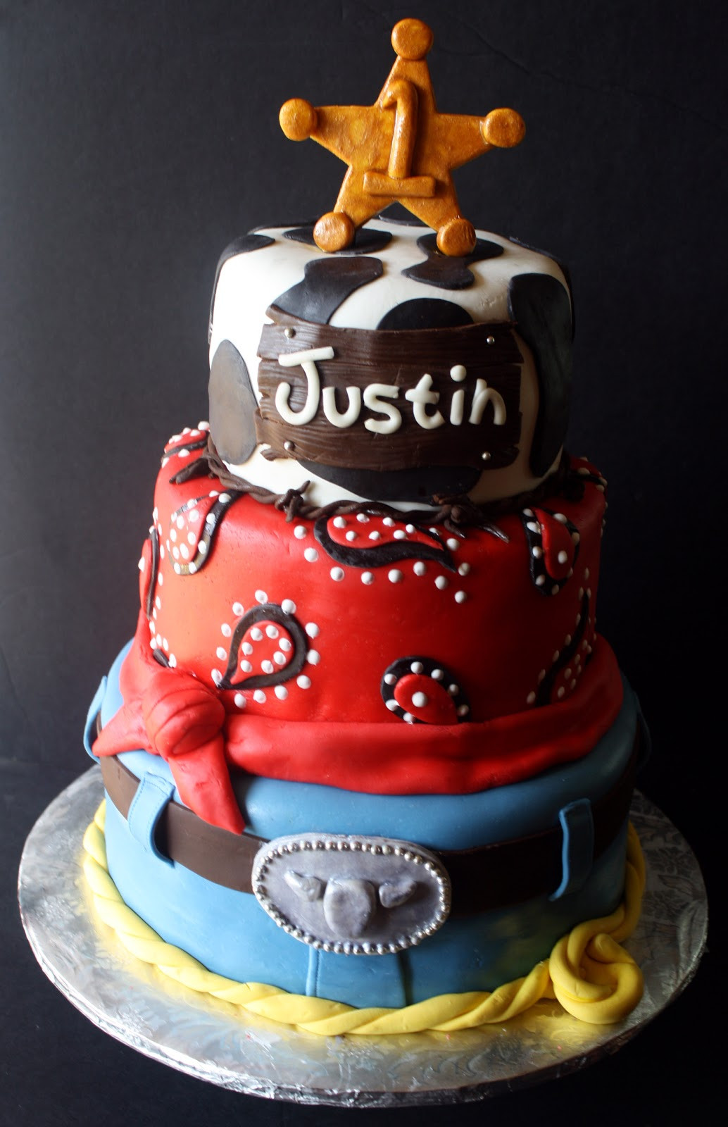 Best ideas about Western Birthday Cake . Save or Pin A Western Cowboy Cake Smash Cake Now.