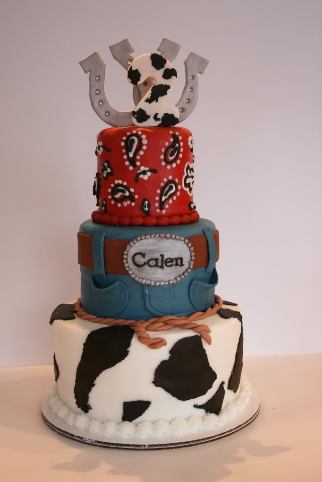 Best ideas about Western Birthday Cake . Save or Pin And Everything Sweet Calen s Western Cake Now.