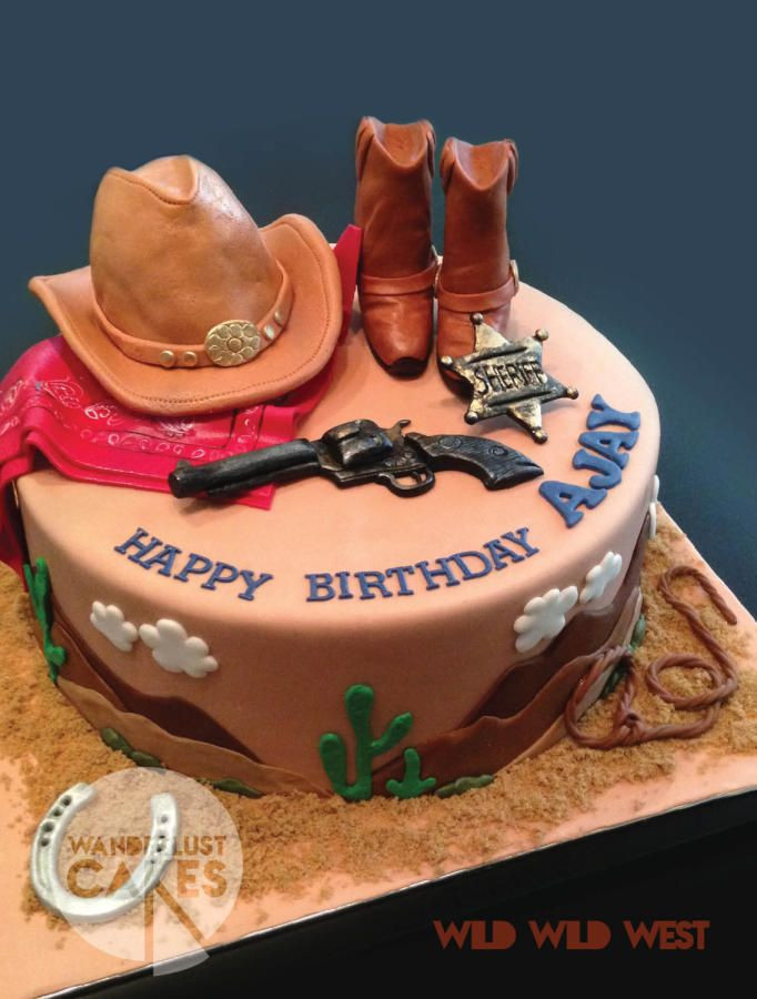 Best ideas about Western Birthday Cake . Save or Pin Best 25 Cowboy birthday cakes ideas on Pinterest Now.