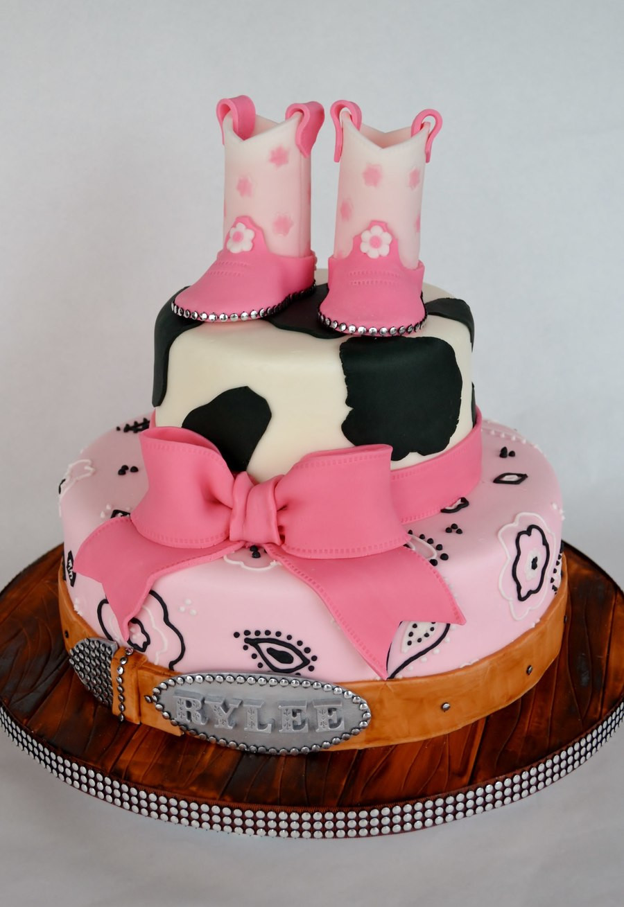 Best ideas about Western Birthday Cake . Save or Pin Cowgirl Western Cake CakeCentral Now.