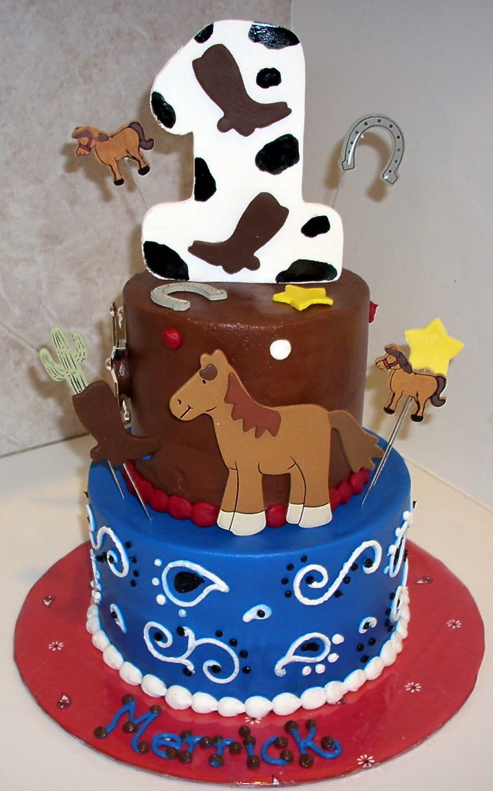 Best ideas about Western Birthday Cake . Save or Pin children s party plus July 2011 Now.