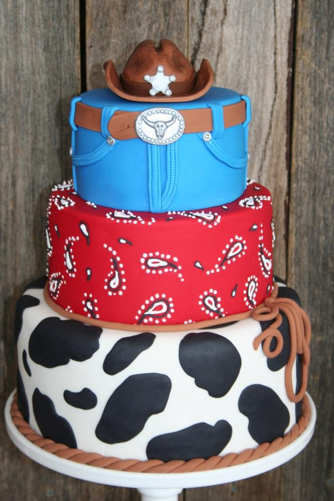 Best ideas about Western Birthday Cake . Save or Pin Leonie s Cakes and Parties Cowboy Party Ethan Now.