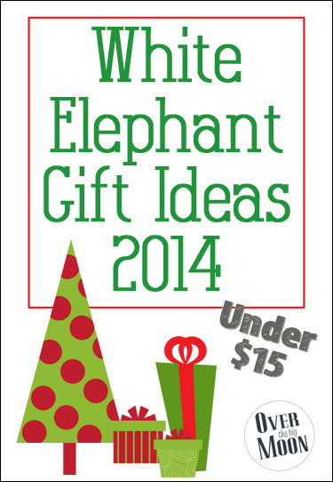 Best ideas about What Is A White Elephant Gift Exchange Ideas . Save or Pin White Elephant Gift Ideas 2014 Over The Big Moon Now.